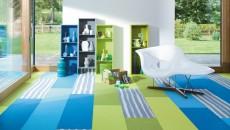 Možnosti kombinací Trendtime Frieze blue/green/wood