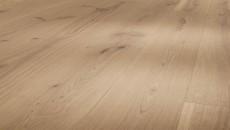 Parador Basic - Dub rustic, selský, M4V, lak mat bílý