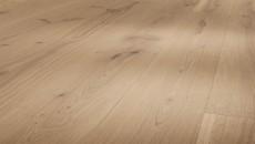 Parador Basic - Dub kartáč. rustic, selský, M4V, olej bílý